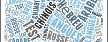 Test d'orientation de langues