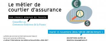 conférence métier courtier d'assurance