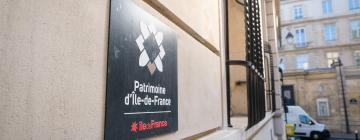Plaque Patrimoine d'Île-de-France
