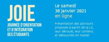 Journée d'intégration et d'orientation des étudiants 2021