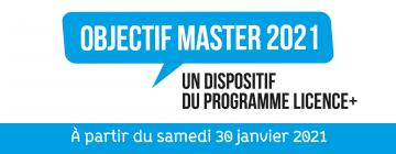 Objectif Master 2021