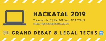 Bannière de Hackatal 2019
