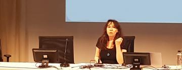 Hélène de Penanros, maîtresse de conférence HDR de lituanien.