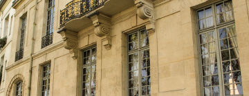 façade de l'IEA de Paris, hôtel de Lauzun