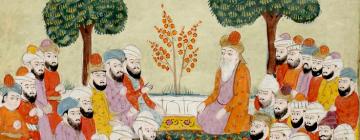 Illustration du Coran aux Moyen Age