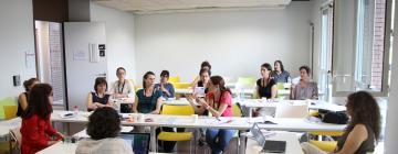 Salle de cours de l'Inalco