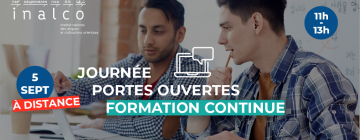 JPO Formation continue - Septembre 2020