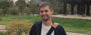 Portrait de Grégoire Jouclas, étudiant Inalco 2021