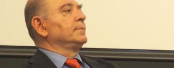 Lokman Slim anime une table ronde sur le thème « Partager les données numériques au Proche-Orient » le 29 mai 2019 lors du colloque international Nouvelles archives numériques au Proche-Orient : le son, l'image, le film et le web.