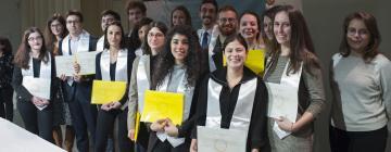 Remise des diplômes - promotion master RI 2016-2018