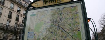 Randonnée citadine dans Paris quartier du temple