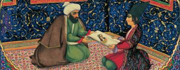 Mille et une nuits illustration par Sani ol-Molk (1849-1856).