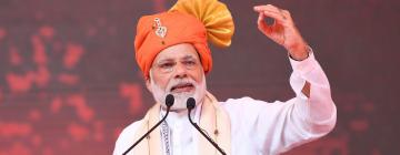 Photographie de Narendra Modi, premier ministre indien