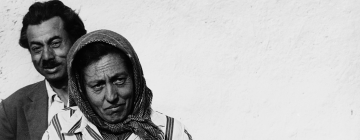 Couple de Gitans (Hongrie) - Archive photographique du film « Mit csinálnak a cigánygyerekek »