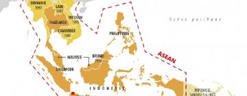 carte ASEAN
