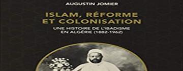 Couverture d'un livre avec photo d'un homme musulman habillé en blac