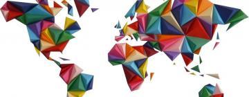 Planisphère origami