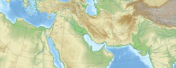 Moyen-Orient map
