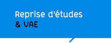 Reprise d'études & VAE