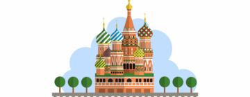 Image montrant une basilique Russe