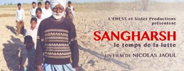 """Visuel promotion du film """"Sangharsh. le temps de la lutte"""" de Nicolas Jaoul"""