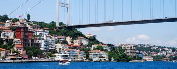 Pont Fatih Sultan Mehmet, Istanbul, Turquie