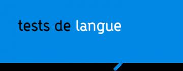 Test de langue