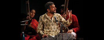 Portrait de Thodur Madabusi Krishna