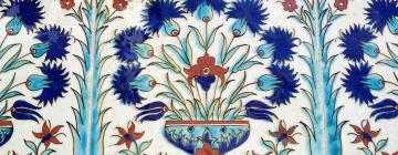 Détail des faïences du Palais de Topkapi à Istanbul