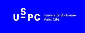 Logo USPC fond bleu