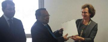 Visite du ministre des Affaires étrangères du Bangladesh à l'Inalco