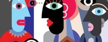 """visuel 3ème Rencontre du Cycle """"Parcours de vie et expériences formatives dans l'écriture de la recherche en didactique des langues et des cultures"""""""