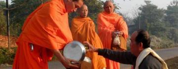 visuel Bouddhisme Theravada : La transmission des mérites au Laos