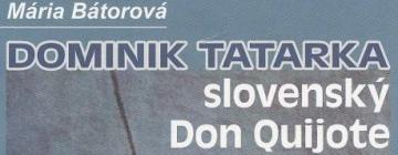 Dominik Tatarka hier et aujourd'hui - visuel