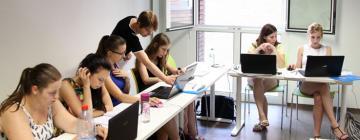 Salle de cours pendant le campus LETFIS 2015